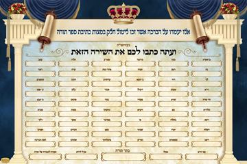 Picture of Ksivas Sefer Torah Sign