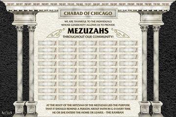 Picture of Mezuzah Sponsors