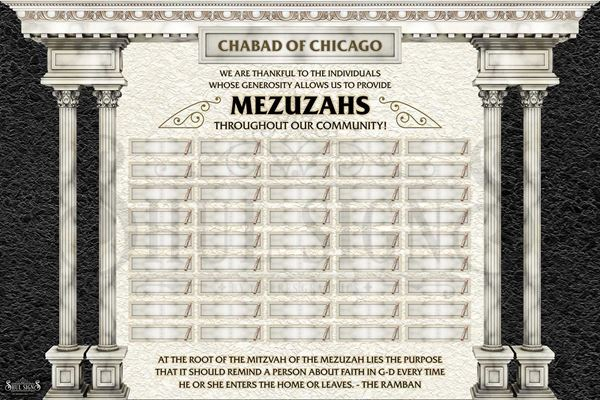 Picture of Mezuzah Sponsors