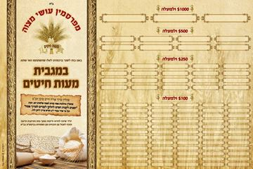 Picture of Maos Chitim Campaign - מעות חיטים