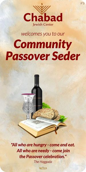 Picture of Chabad - Passover Seder - Easel Sign