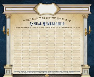 Picture of Annual Membership Sign