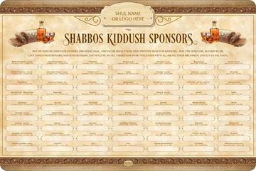 Picture of Kiddush - Shabbos & Holidays - 5780