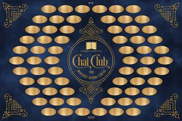 Picture of Chai Club sign