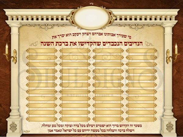 Picture of Birchat Hashana