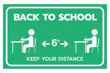 Picture of Back to School - Social Distancing