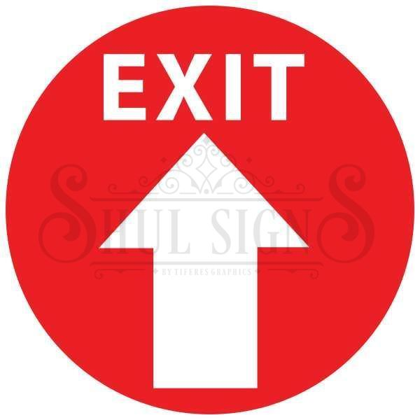Picture of Floor Decal - Exit