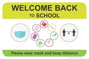 Picture of Back to School - Mask - Social Distancing