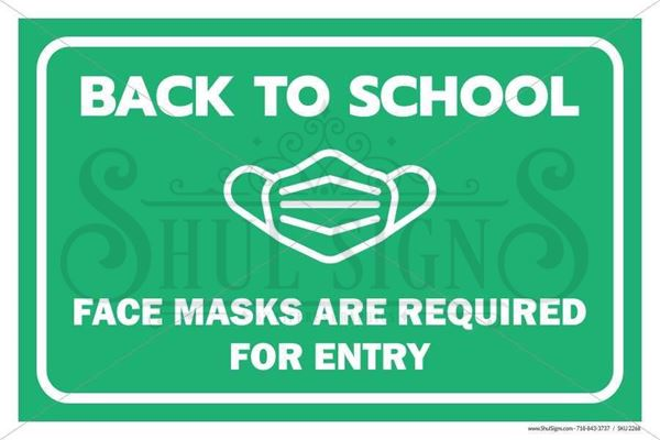 Picture of Back to School - Mask Required