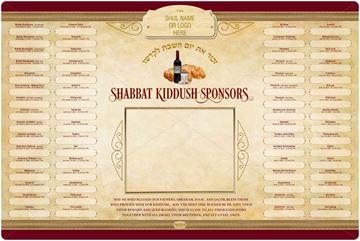 Picture of Shabbat  Kiddush-Dinner - 5781 + Insert