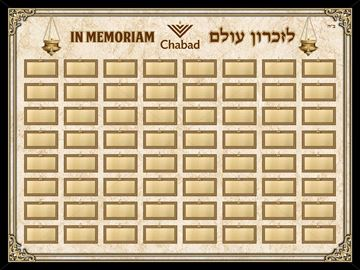 Picture of Memorial Board