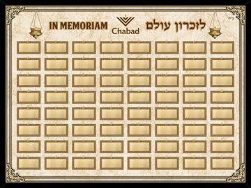 Picture of Memorial Board
