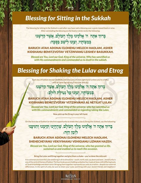 Picture of Sukkot Blessing