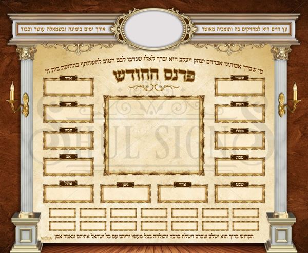 Picture of Parnes Hachodesh Sign