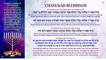 Picture of Chanukah Blessing Postcard