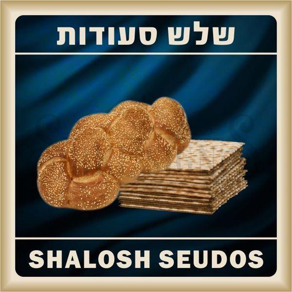 Picture of Custom Shalosh Seudos Sign