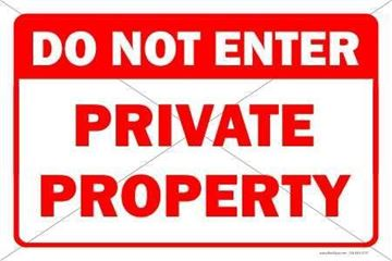 Picture of Private property - Sign
