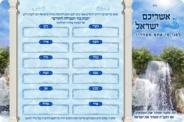 Picture of Mikvah Monthly Sponsor Sign