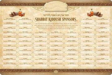 Picture of Kiddush - Shabbos & Holidays - 5782